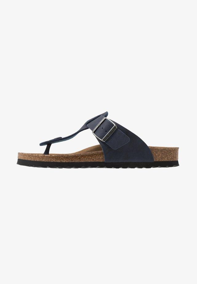 MEDINA VEGA - Sandály s odděleným palcem - matt navy