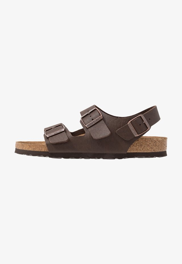 MILANO BF VEGA - Sandály - matt brown