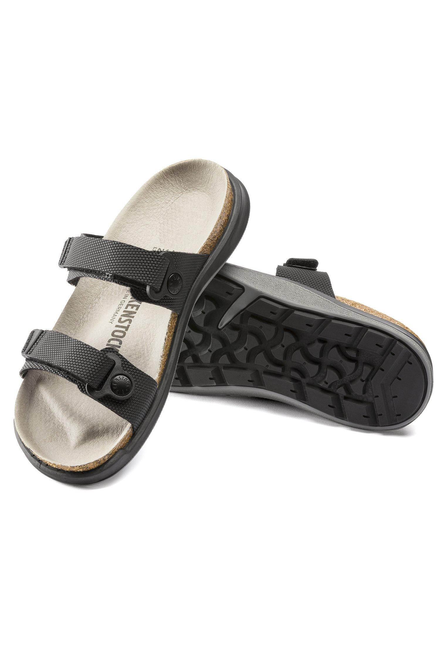 Birkenstock SAHARA - Sandaler - futura black