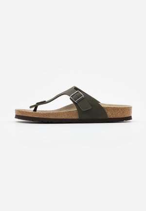 GIZEH - Slippers - desert soil green