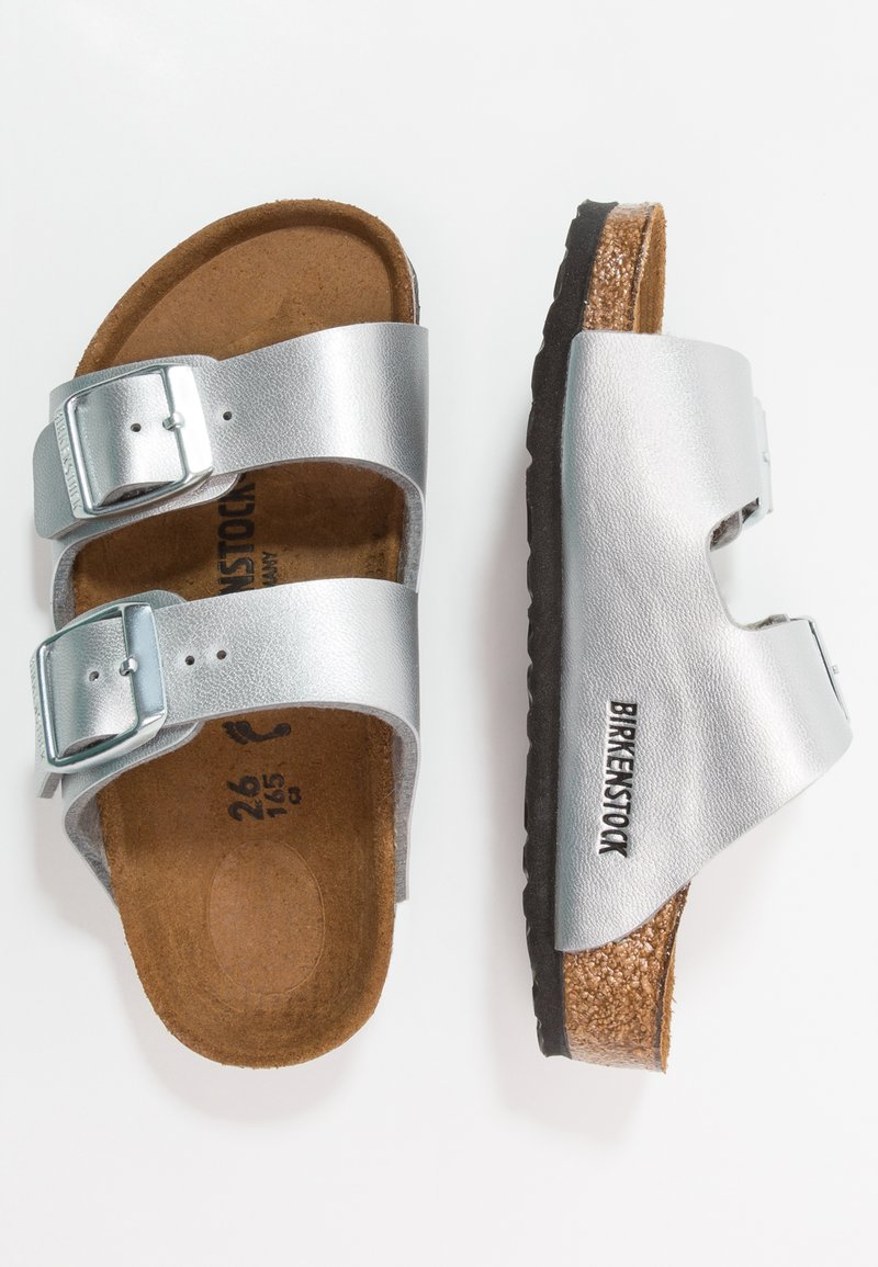 Birkenstock - ARIZONA - Pantolette flach - silver
