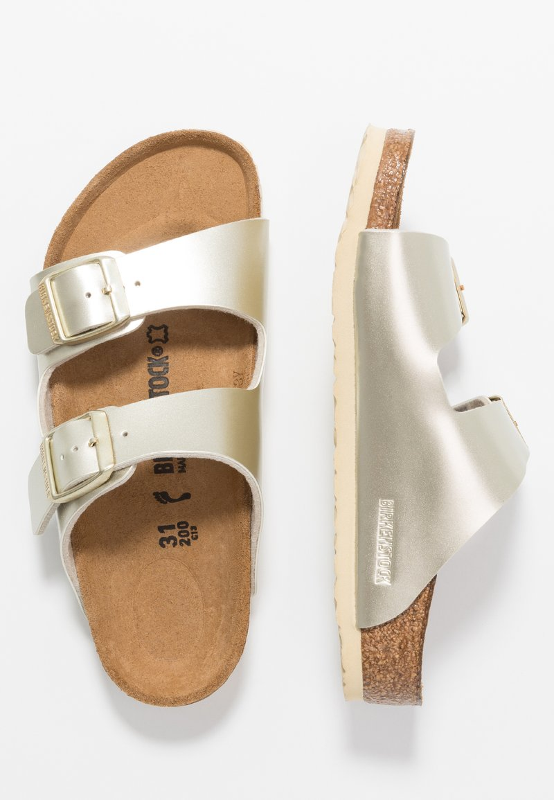 Birkenstock - ARIZONA - Chaussons - electric metallic gold