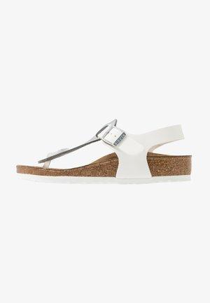 KAIRO KIDS - T-bar sandals - silber
