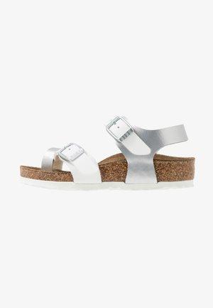 TAORMINA - Sandals - silber