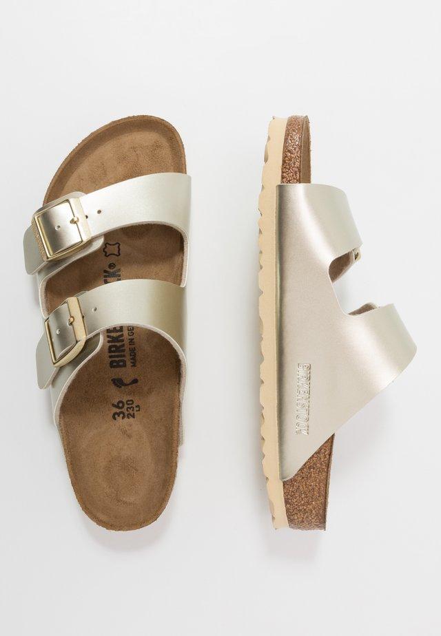 ARIZONA - Slippers - electric metallic gold