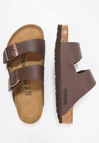 Birkenstock - ARIZONA - Slippers - dark brown - 1