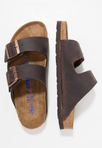 Birkenstock - ARIZONA SOFT FOOTBED NARROW - Sandaler - habana - 1