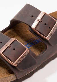 Birkenstock - ARIZONA SOFT FOOTBED NARROW - Sandaler - habana - 5