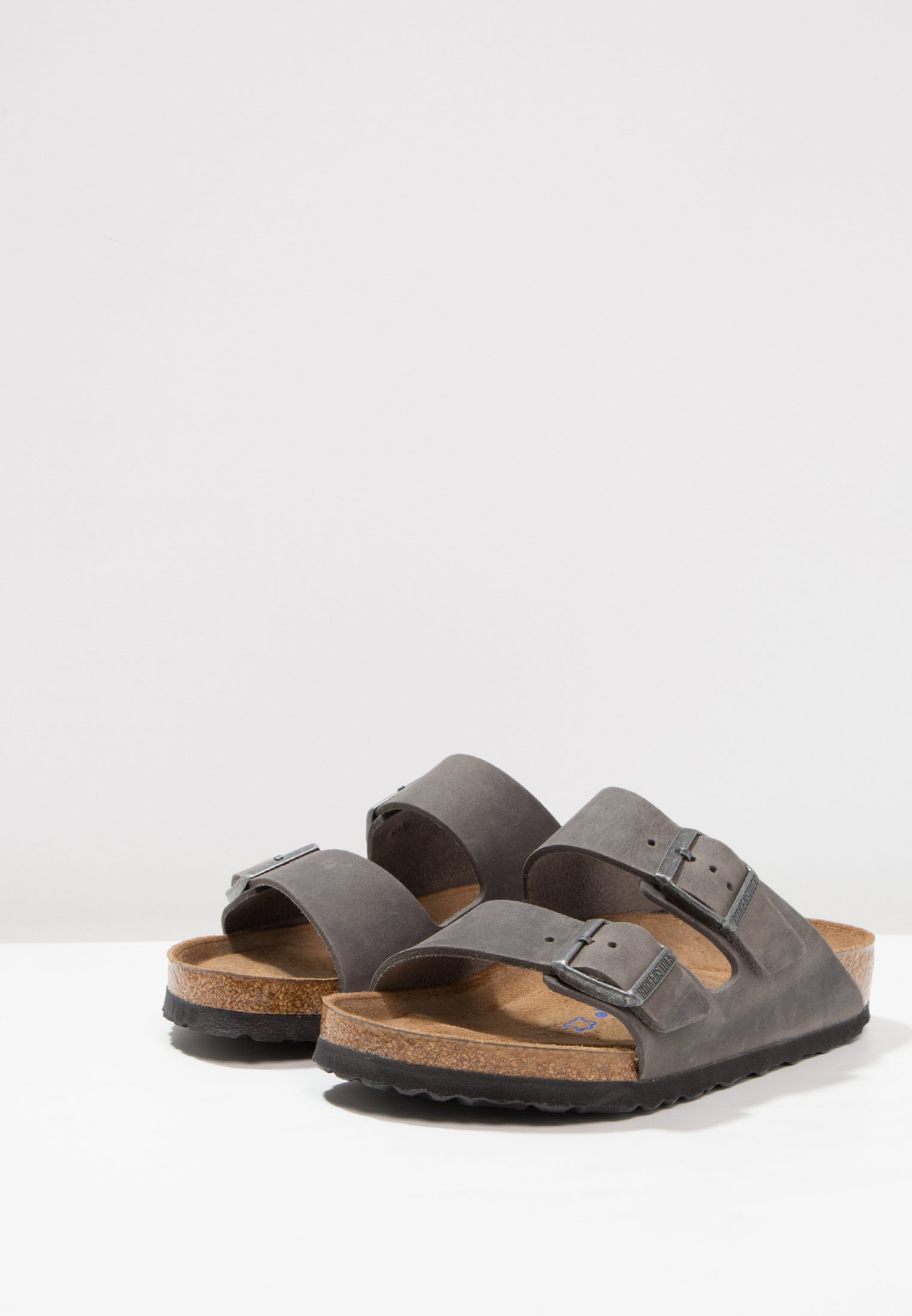 Birkenstock Arizona Soft Footbed - Sandaler Iron
