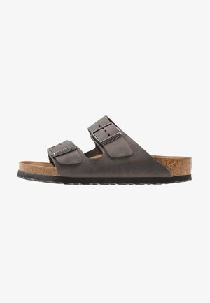 ARIZONA SOFT FOOTBED - Sandalias planas - iron