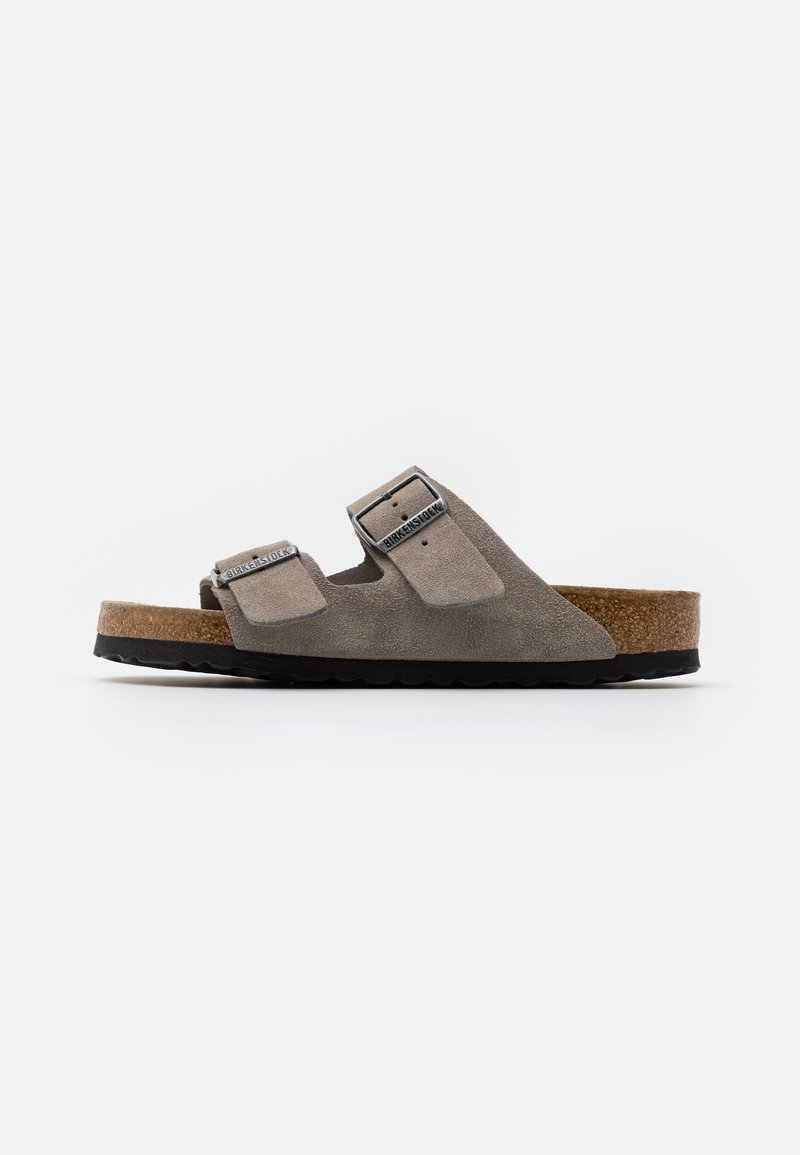 Birkenstock - ARIZONA SOFT FOOTBED - Chaussons - stone coin