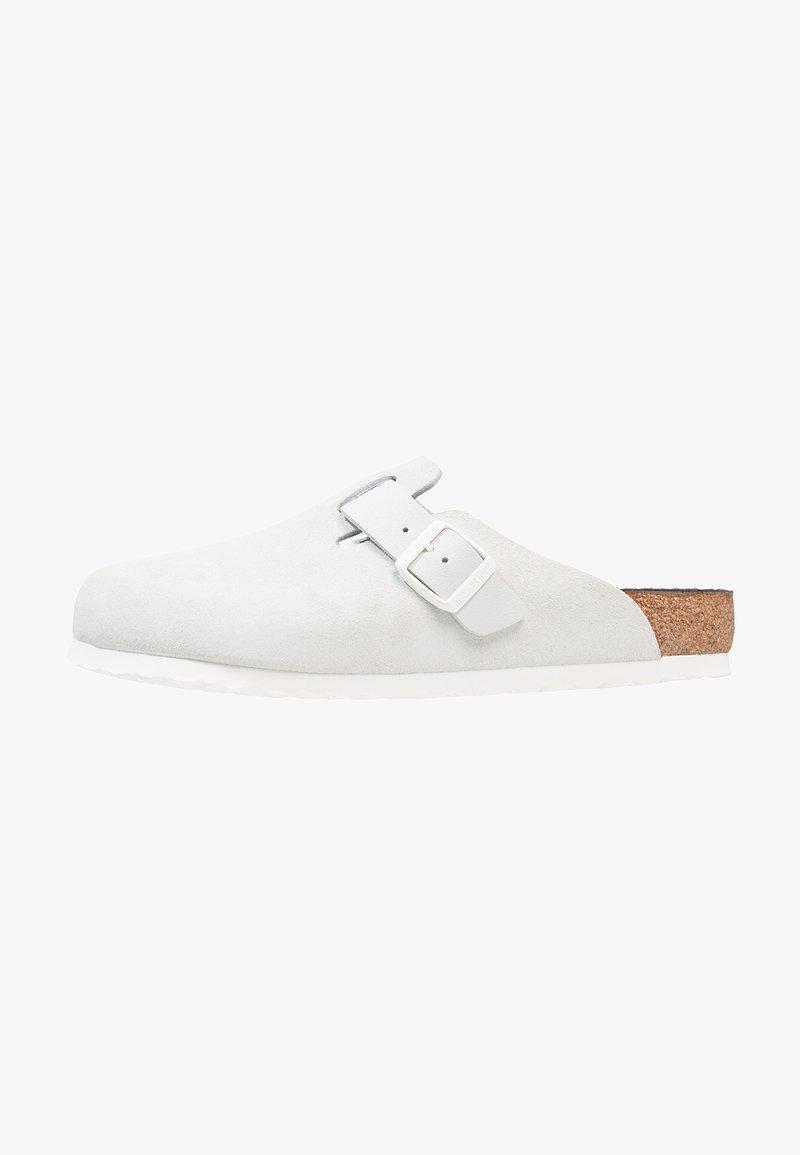 Birkenstock - BOSTON - Domácí obuv - asphalt offwhite