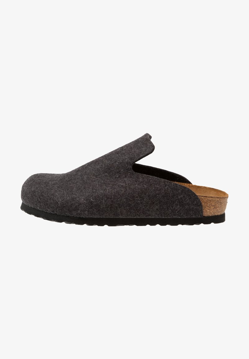 Birkenstock - DAVOS REGULAR FIT - Pantuflas - anthracite