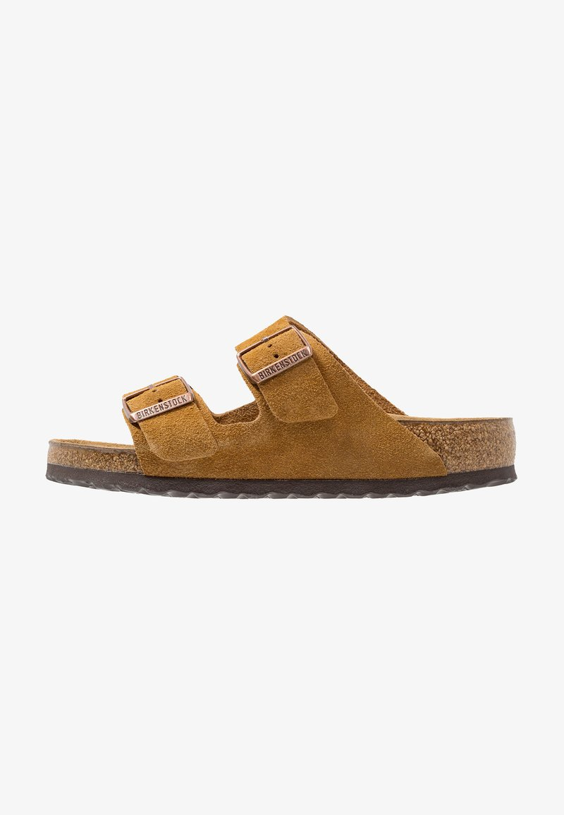 Birkenstock - ARIZONA SOFT FOOTBED - Chaussons - tan