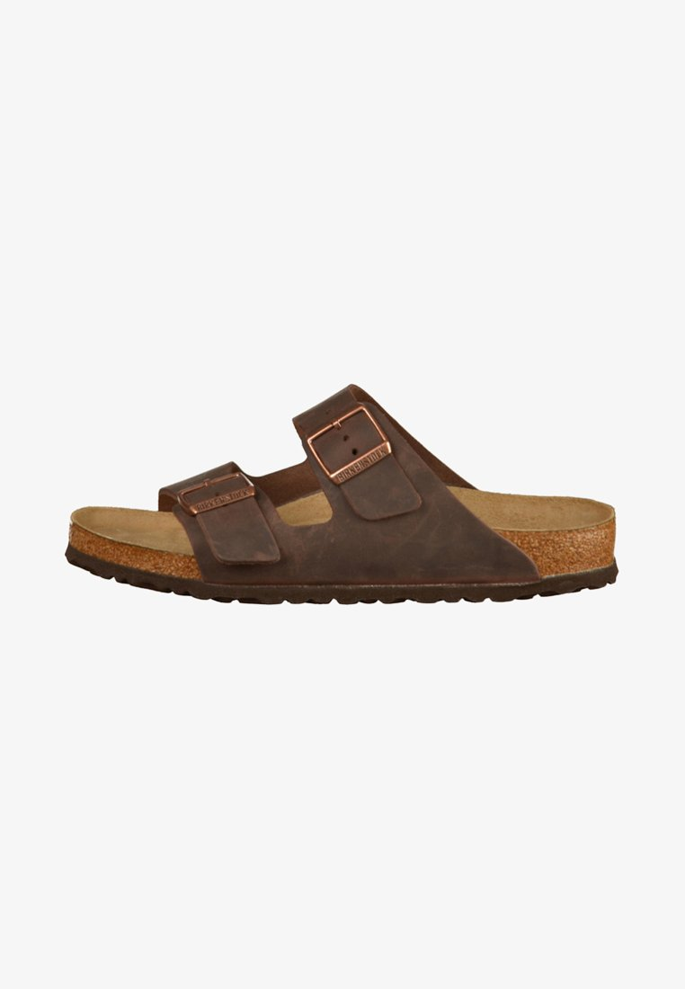 Birkenstock - ARIZONA SOFT FOOTBED - Mules - brown