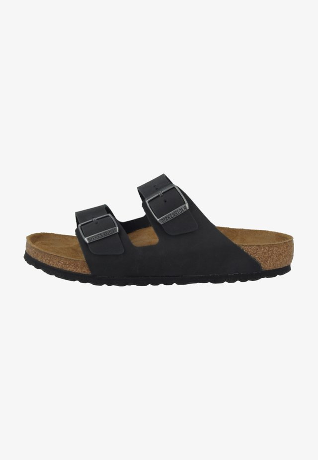 ARIZONA SOFT FOOTBED - Sandaler - black