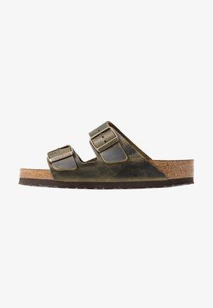 ARIZONA SOFT FOOTBED - Domácí obuv - jade