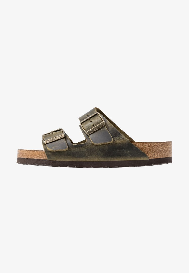 Birkenstock - ARIZONA SOFT FOOTBED - Tofflor & inneskor - jade