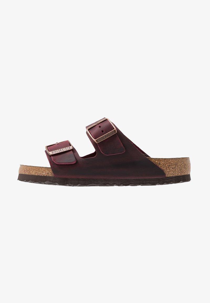 Birkenstock - ARIZONA SOFT FOOTBED - Domácí obuv - zinfandel