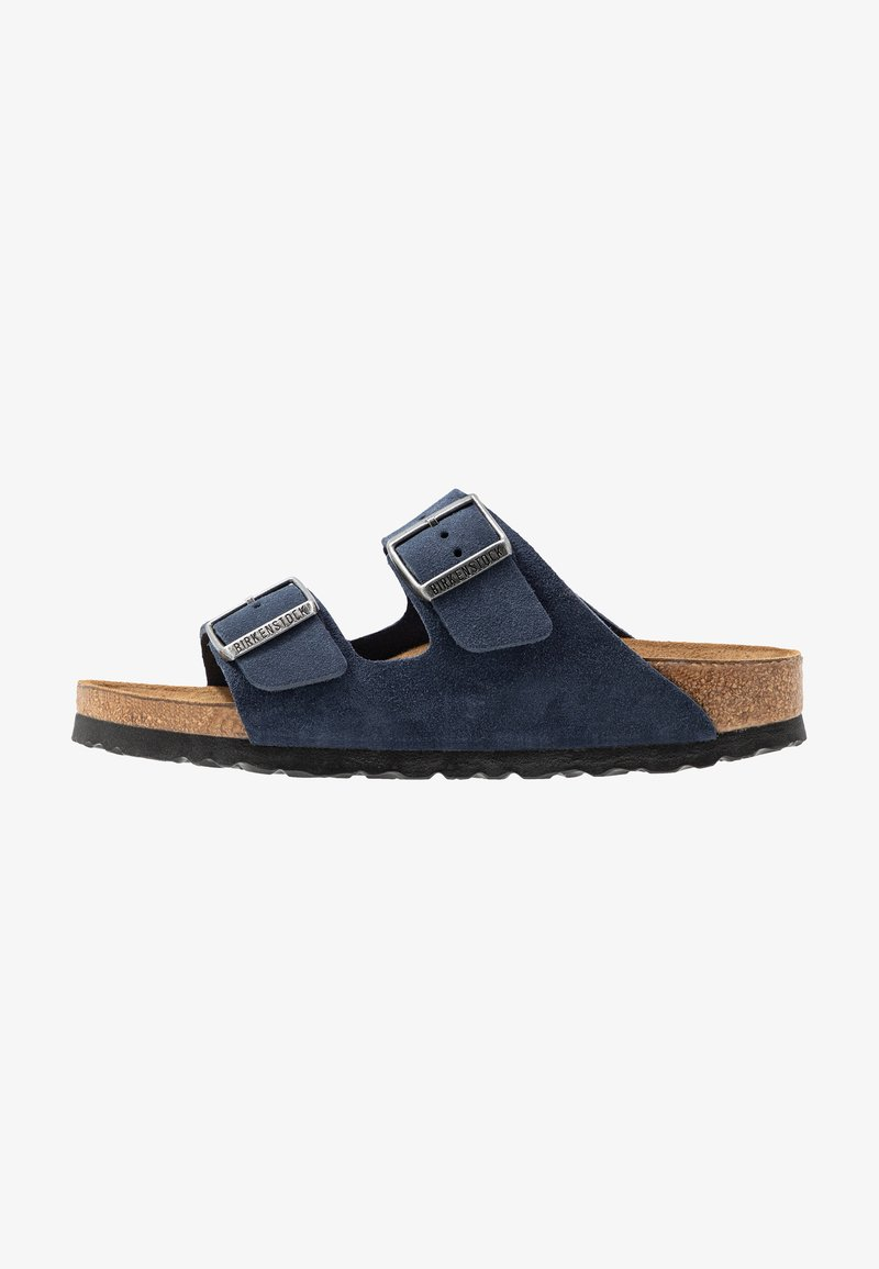 Birkenstock - ARIZONA SOFT FOOTBED NARROW FIT - Domácí obuv - night
