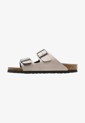 ARIZONA BF PULL UP STONE VEG2 NARROW - Slippers - stone