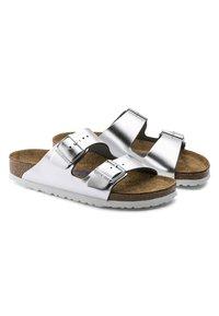 Birkenstock - Slippers - silver - 5