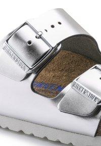 Birkenstock - Slippers - silver - 7