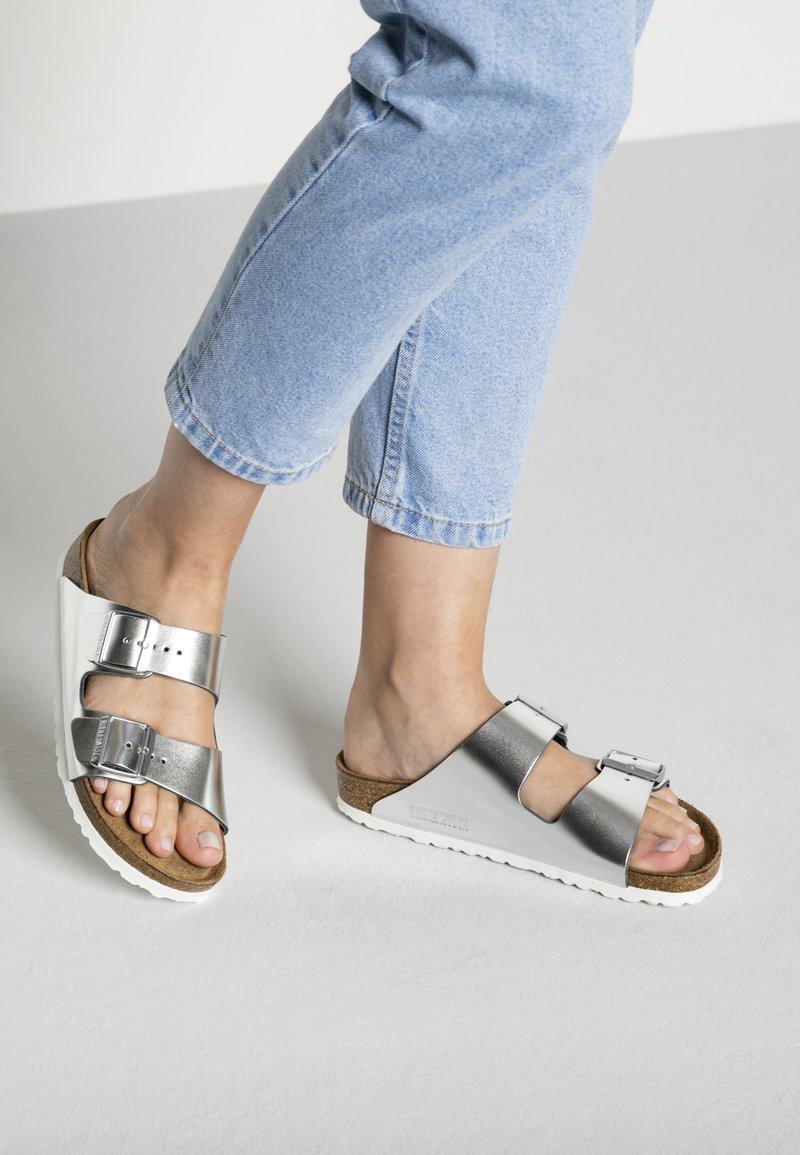 Birkenstock - Slippers - silver