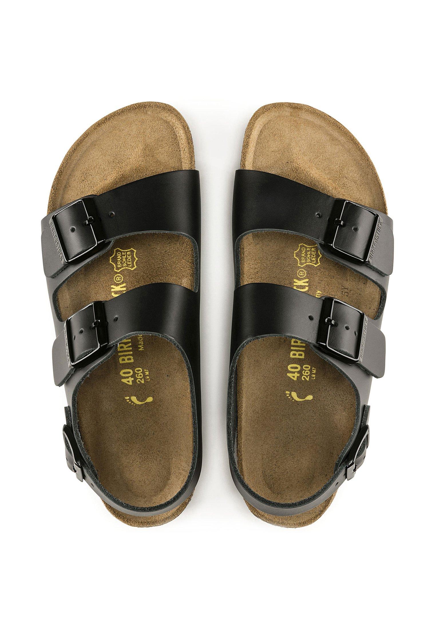 Birkenstock MILANO - Walking sandals - black