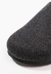 Birkenstock - AMSTERDAM - Slippers - anthracite - 5