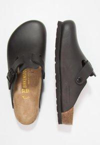 Birkenstock - BOSTON - Slippers - black - 1