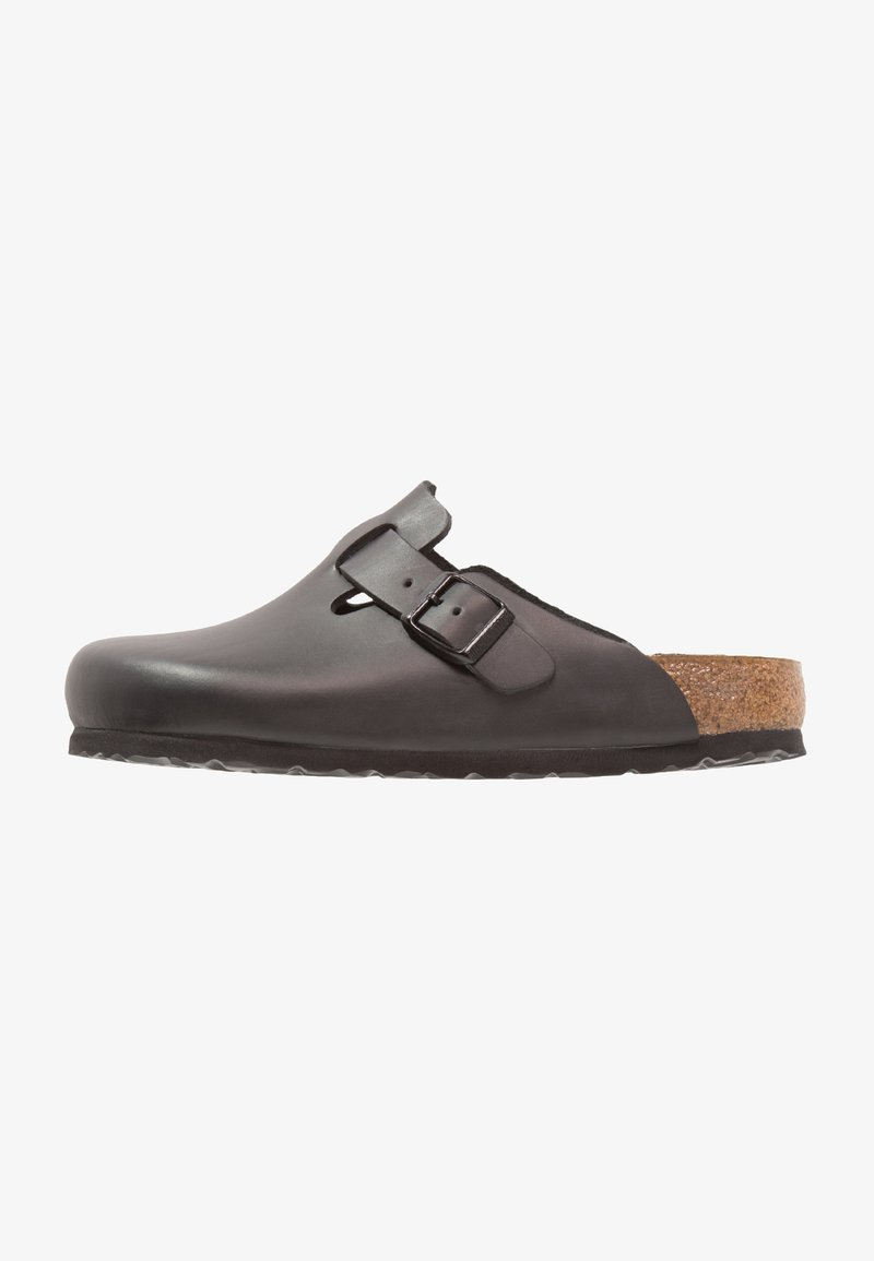 Birkenstock - BOSTON - Slippers - black