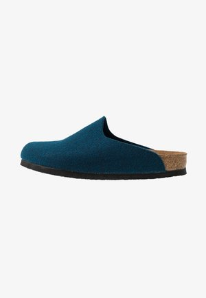 AMSTERDAM VEGAN - Slippers - ocean blue