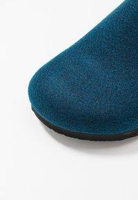 Birkenstock - AMSTERDAM VEGAN - Domácí obuv - ocean blue - 5