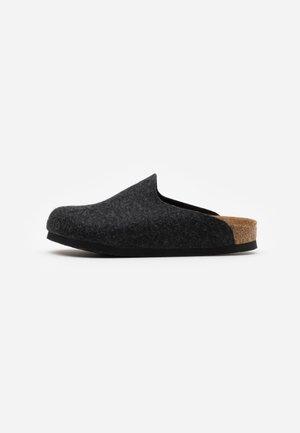 AMSTERDAM VEGAN UNISEX - Domácí obuv - anthracite