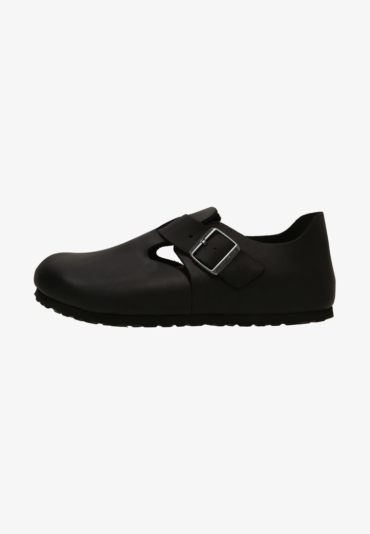 Birkenstock - LONDON NARROW - Slippers - black
