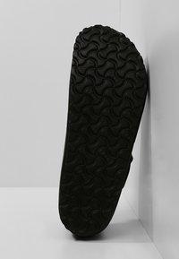 Birkenstock - LONDON NARROW - Slippers - black - 4