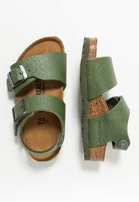 Birkenstock - NEW YORK - Sandali - saddle green - 0