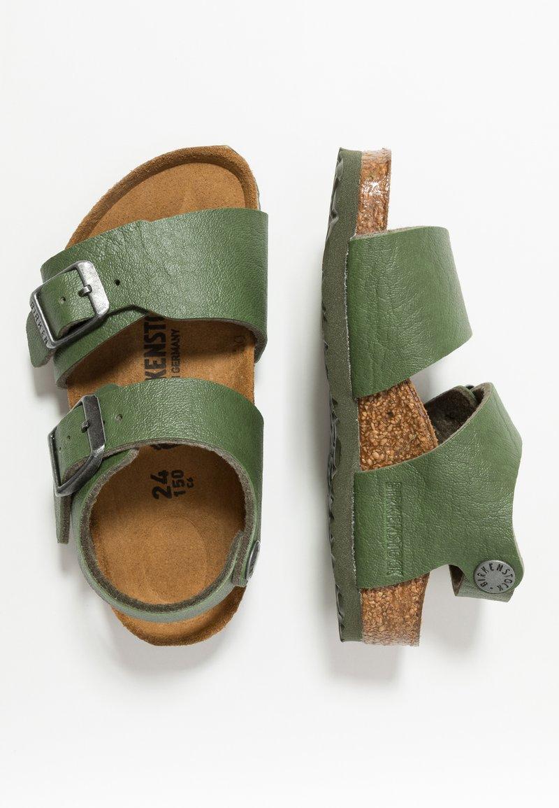 Birkenstock - NEW YORK - Sandaalit nilkkaremmillä - saddle green