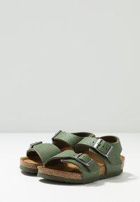 Birkenstock - NEW YORK - Sandali - saddle green - 3