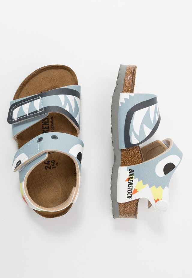 PALU - Sandals - monster blue