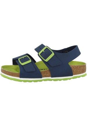 Walking sandals - desert soil vibrant blue (1015756)