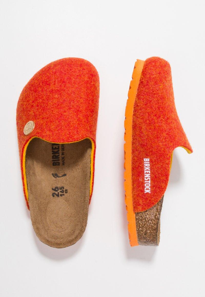 Birkenstock - AMSTERDAM NARROW FIT - Tohvelit - doubleface orange