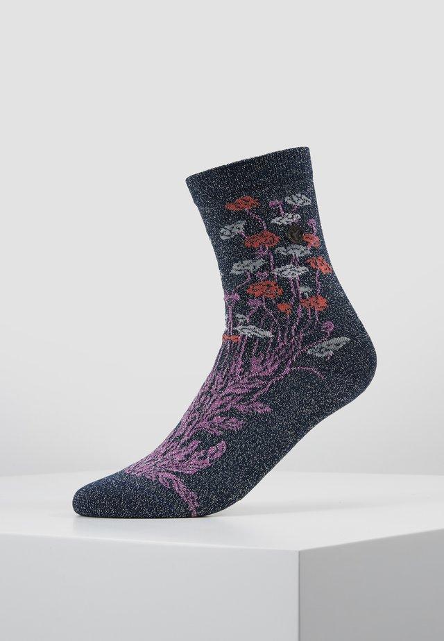 BLING FLOWERS - Socks - blue