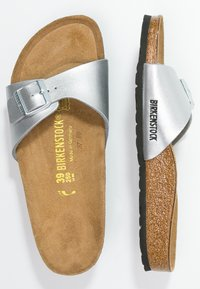 Birkenstock - MADRID - Pantofle - silver - 3