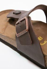 Birkenstock - RAMSES - T-bar sandals - dunkelbraun - 5