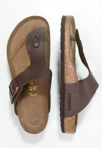 Birkenstock - RAMSES - T-bar sandals - dunkelbraun - 1