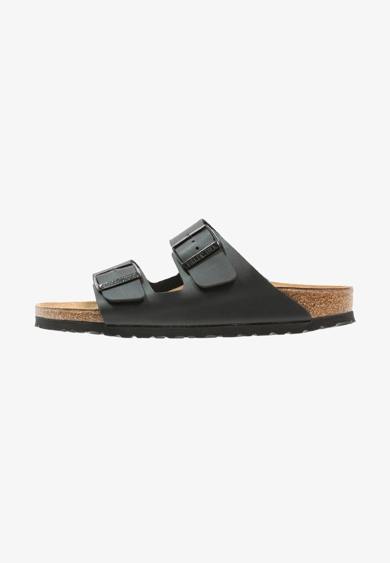 Birkenstock - ARIZONA - Matalakantaiset pistokkaat - black