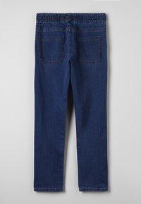 Bikkembergs Kids - STRAIGHT LEG - Straight leg -farkut - blue denim - 1