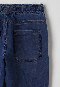 Bikkembergs Kids - STRAIGHT LEG - Straight leg -farkut - blue denim - 2
